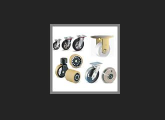 Roues et roulettes, application industrielle